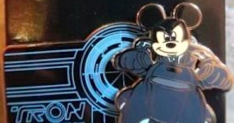 Mickey Tron Lightcycle Power Run Pin