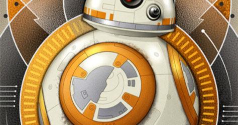 Mike Kungl BB-8 Art