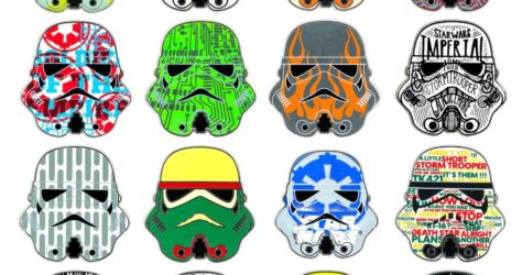 Star Wars Stormtrooper Mystery Pins