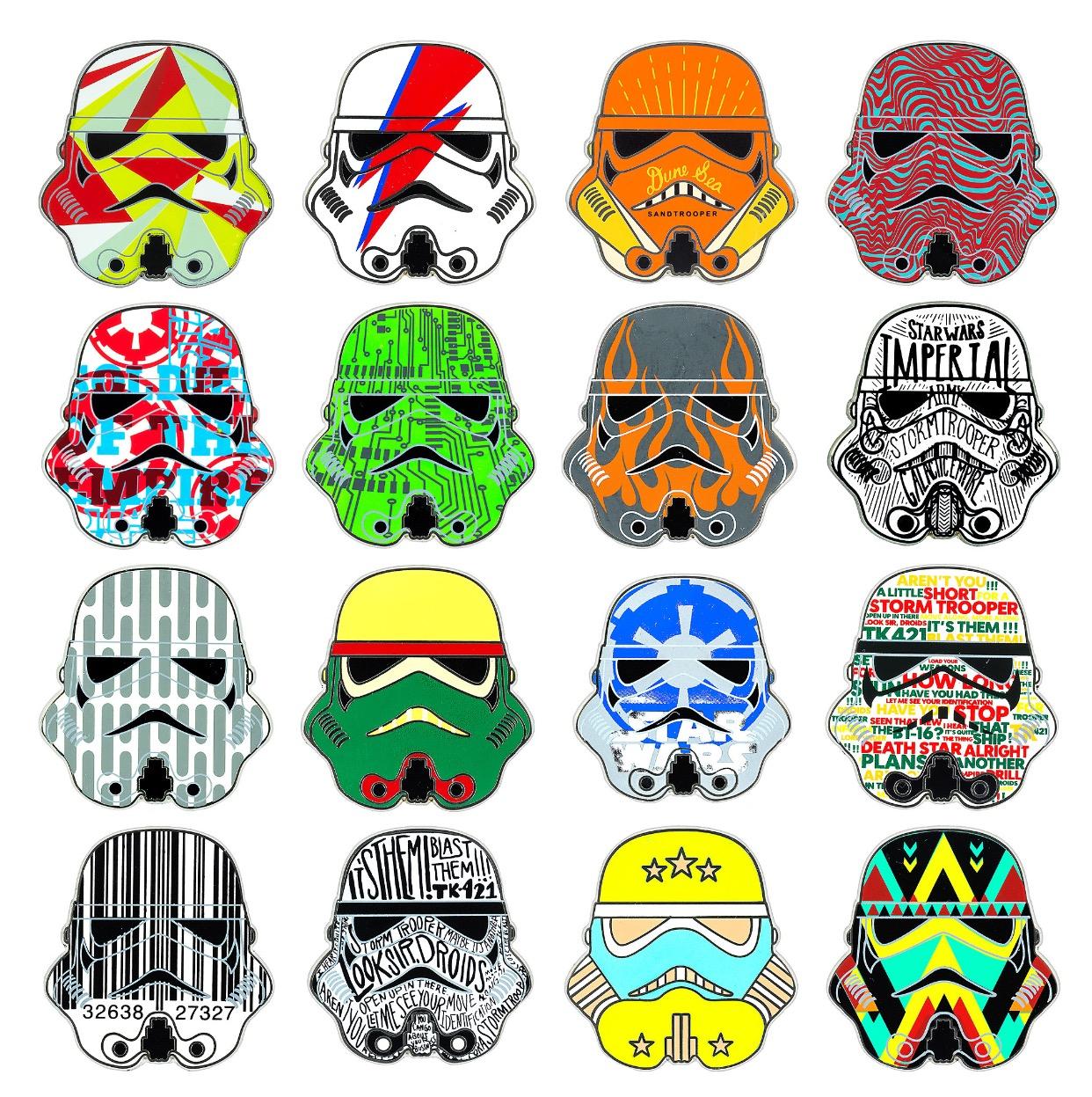 Star Wars Stormtrooper Mystery Pins Disney Pins Blog