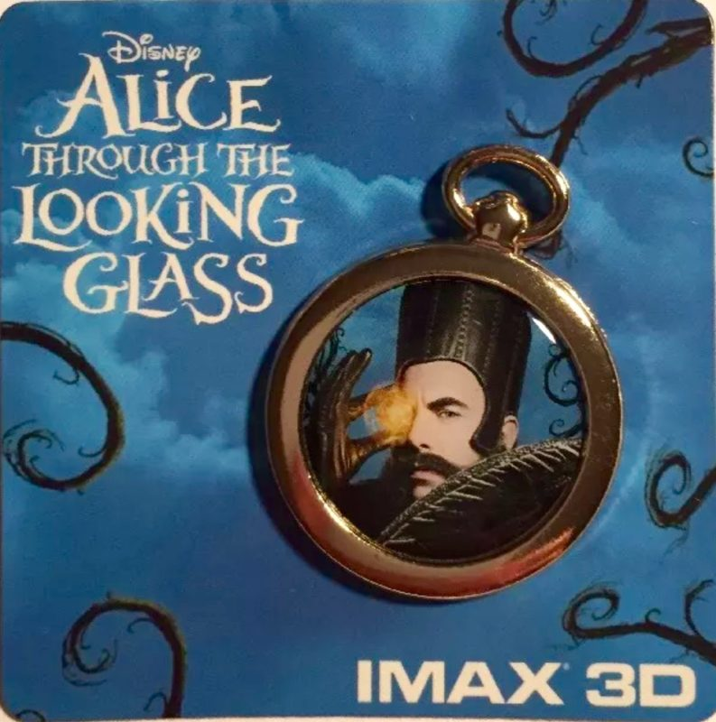 Disney Trading Pins AMC Theaters Alice Through the Looking Glass Group Pin