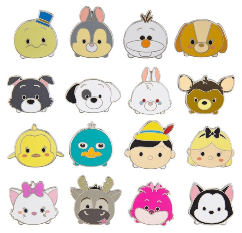 Tsum Tsum Series 2 Pin Collection