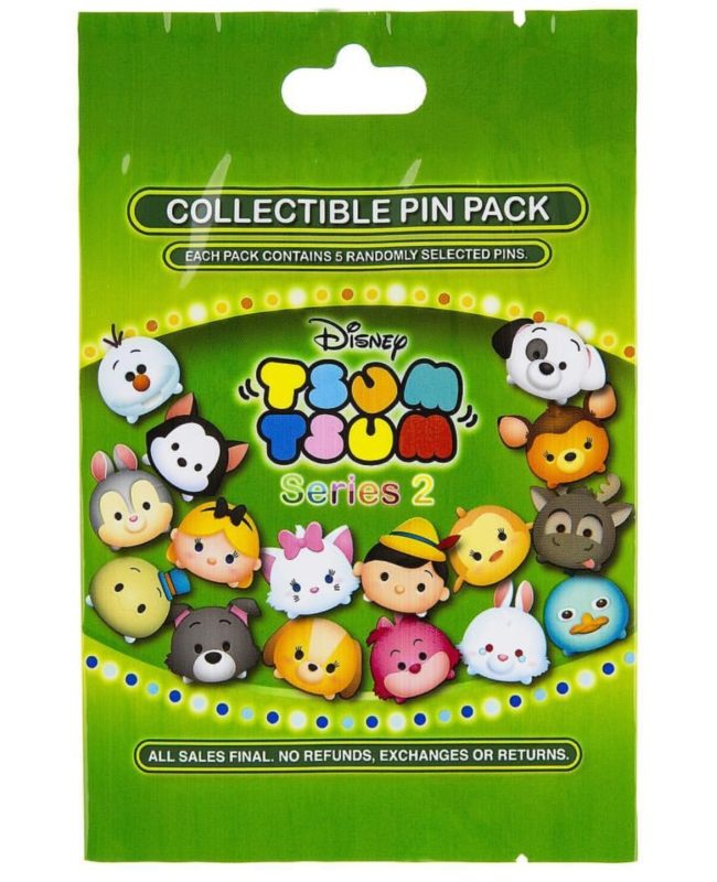 Tsum Tsum Series 2 Pin Pack