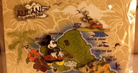 Aulani Booster Pin Set 2016