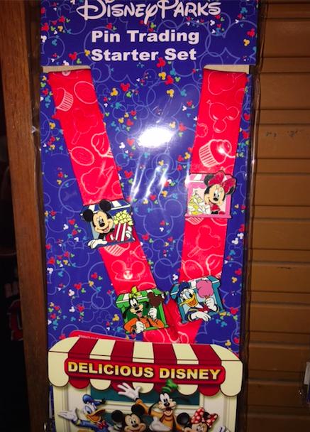 Delicious Disney Pin Trading Starter Set