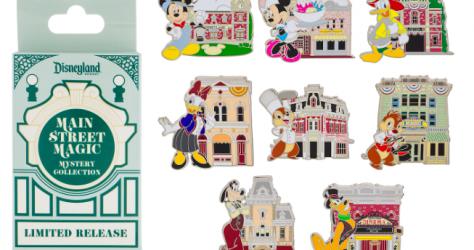 Disneyland Main Street Magic Pin Collection