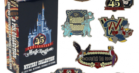 Magic Kingdom 45th Anniversary Pin Collection