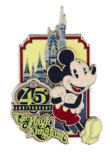 Magic Kingdom 45th Anniversary Pins Disney Pins Blog
