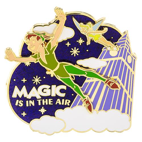 Magic is in the Air Peter Pan Disney Pin