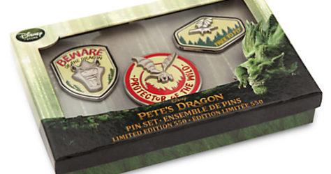 Pete's Dragon Pin Set