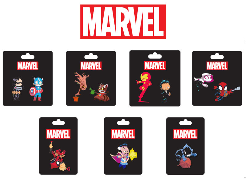 SDCC 2016 Marvel Pins