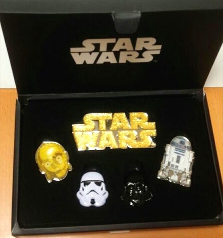 Star Wars Pin Set 2016 - Disney Store Japan