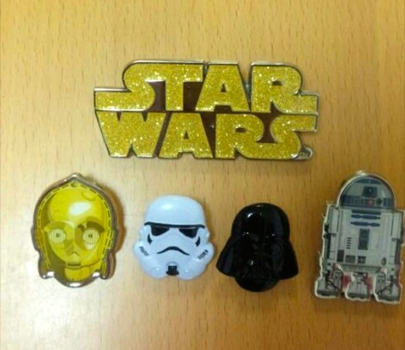 Star Wars Pins 2016 - Disney Store Japan