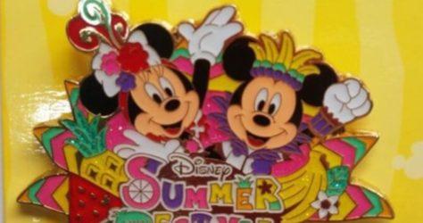 Summer Festival 2016 Pin - Tokyo DisneySea