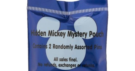 2015 Hidden Mickey Wave B Pin Pouch