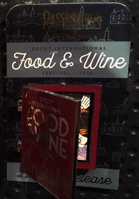 Annual Passholder Epcot Food & Wine 2016 Pin