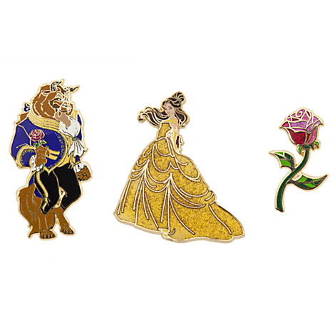 Art of Belle Disney Pins