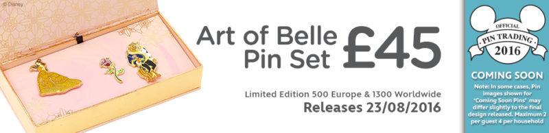 Art of Belle Pin Set