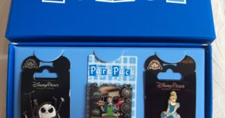 August 2016 Disney Park Pack Pins
