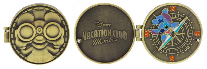 DVC Compass Stitch Pin