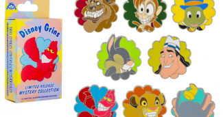 Disney Grins Mystery Pin Set