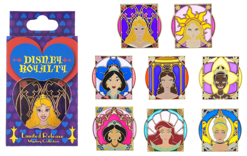 Disney Royalty Mystery Pin Set