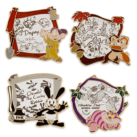 Disney Store Animation Limited Edition Pins