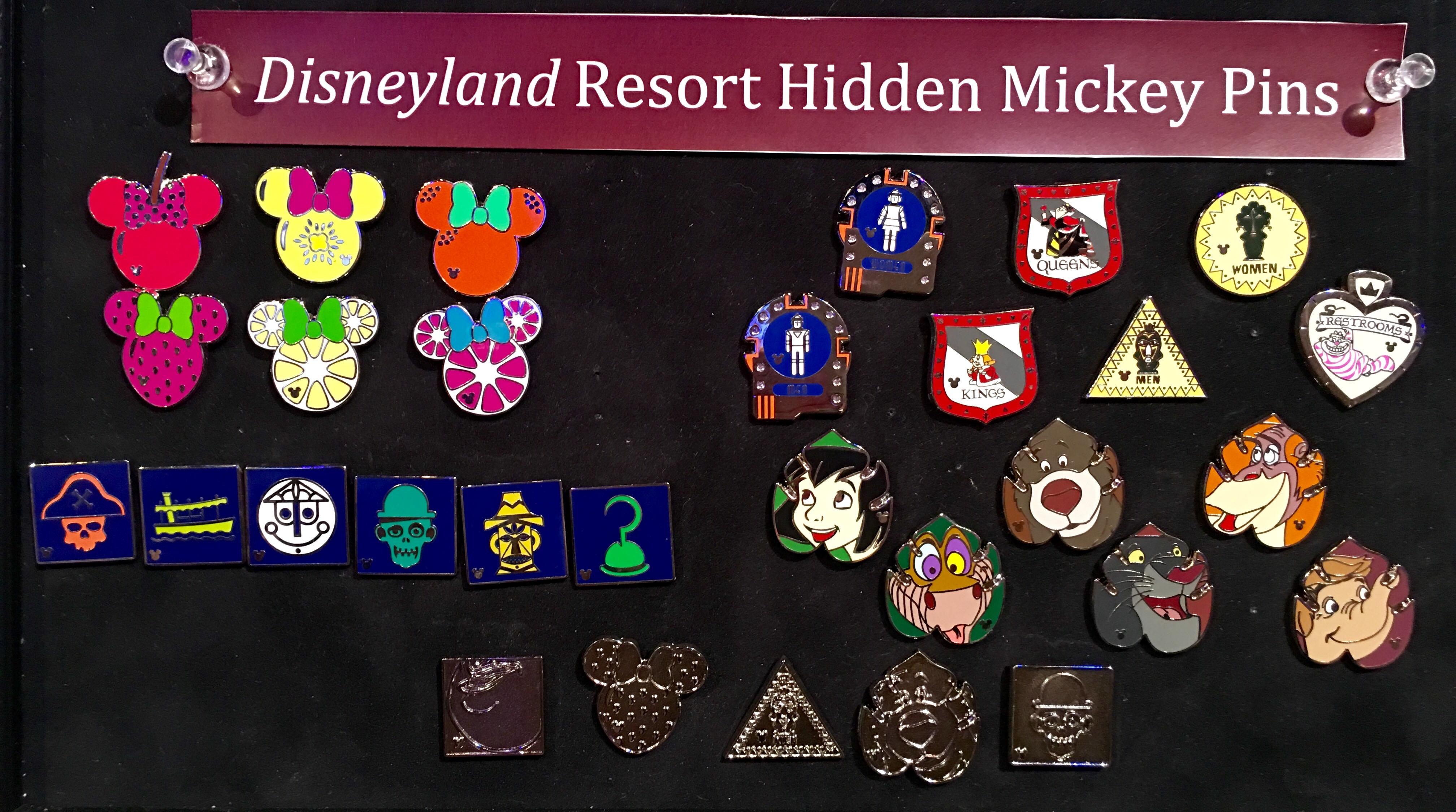 Disney Pins Alice In Wonderland 2018 Hidden Mickeys 7 Pin Set With COMPLETER