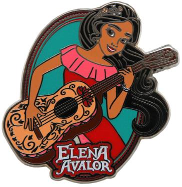 Elena Avalor Disney Pin