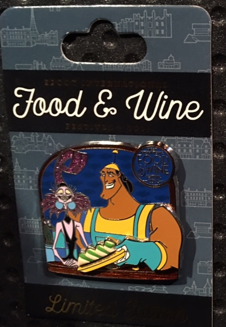 Epcot Food & Wine Kronk Pin 2016