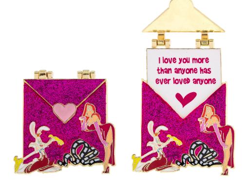 Love Letter Jessica Rabbit Pin