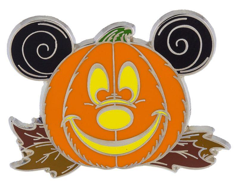 Mickey Pumpkin Halloween Pin