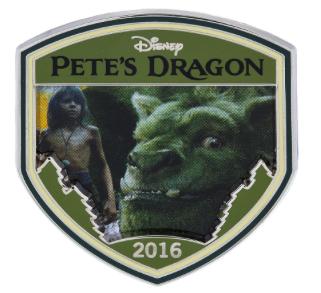 Pete's Dragon Disney Pin 2016
