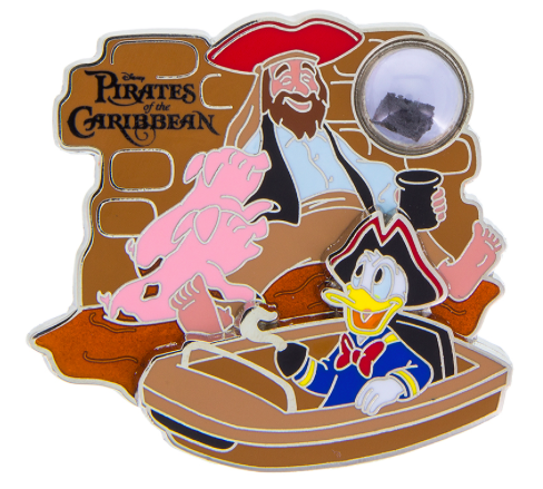 Pirates of the Caribbean PODH Vehicle Pin