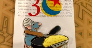 Pixar Party Breakfast Pin