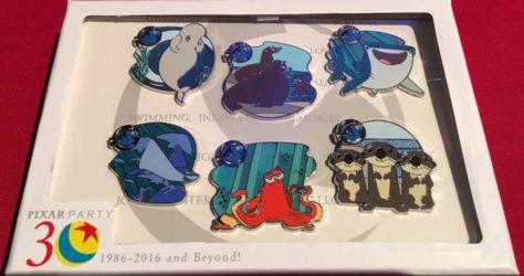 Pixar Party Scavenger Hunt Pin Set