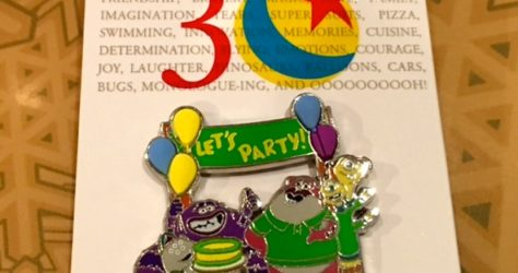 Pixar Party Welcome Gift