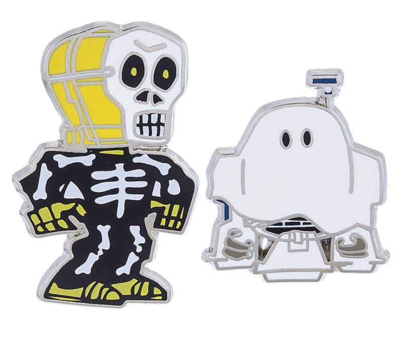 Star Wars C-3PO & R2-D2 Halloween Pins