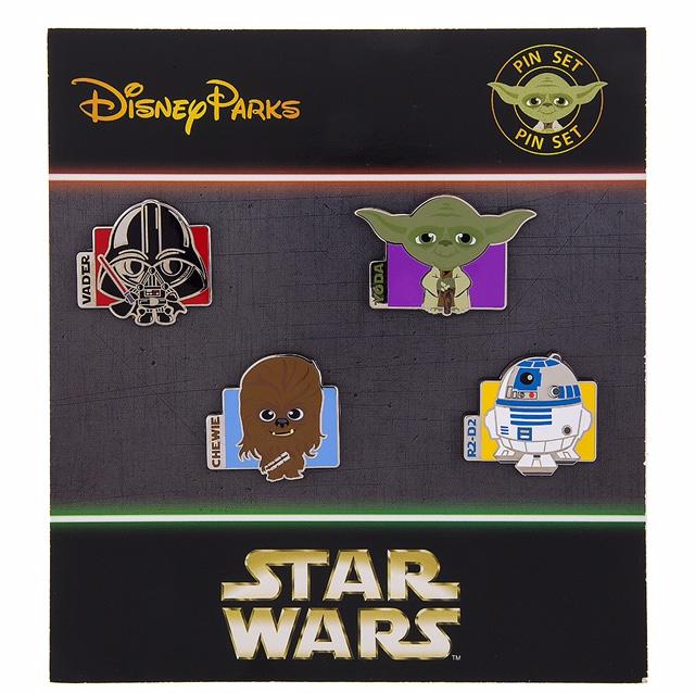 Cute Cutie Star Wars Mystery Luke Pilot Disney Pin 108423