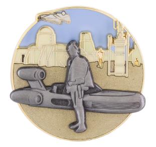 Star Wars Tatooine Pin