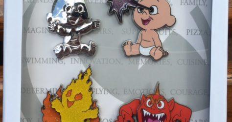 The Incredibles Jack-Jack Pin Set