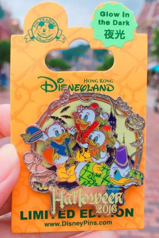 Donald Duck Hong Kong Halloween 2016 Disney Pin