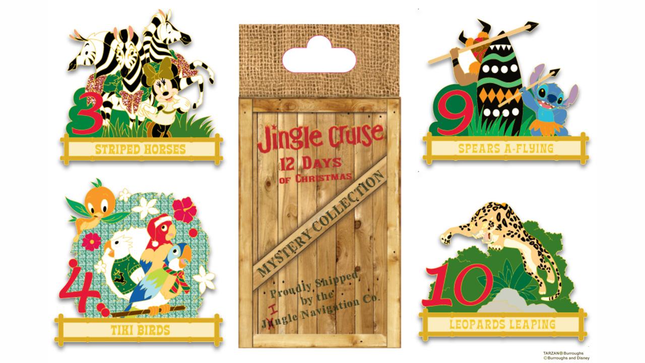 Disney 12 Days Of Christmas.Preview Of D23 Destination D Amazing Adventures Pins