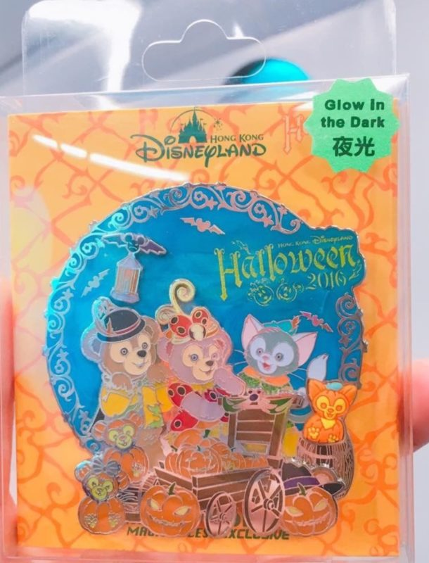Jumbo Hong Kong Halloween 2016 Disney Pin