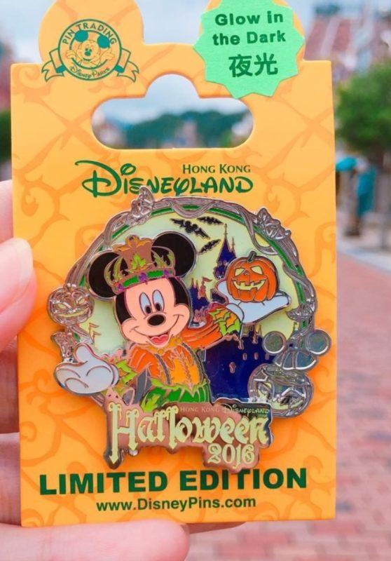 Mickey Mouse Hong Kong Halloween 2016 Disney Pin