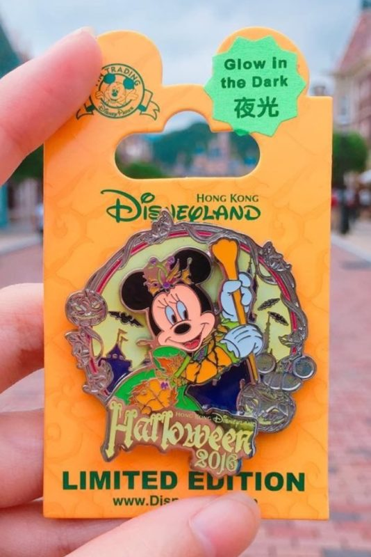 Minnie Mouse Hong Kong Halloween 2016 Disney Pin