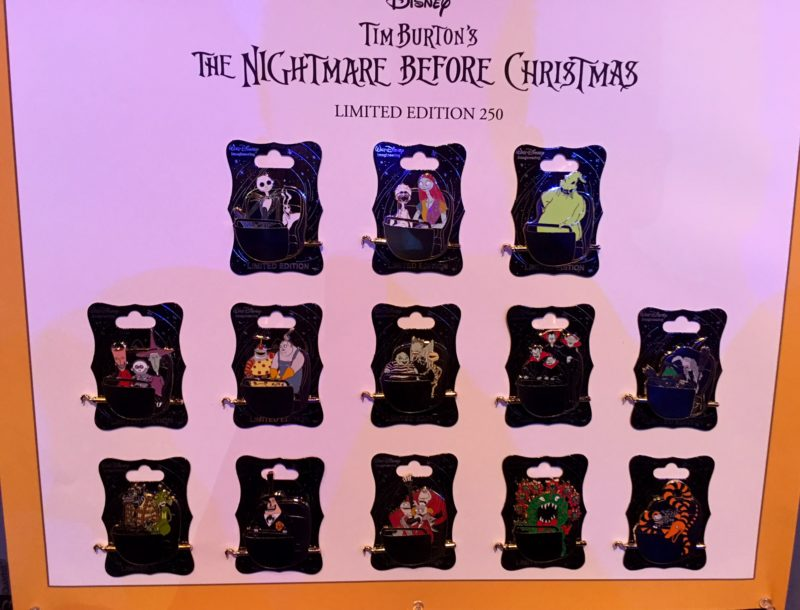 Nightmare Before Christmas Haunted Mansion Pins