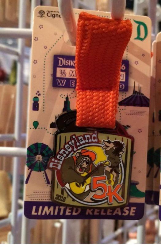 runDisney Disneyland 2016 5k Medal Pin