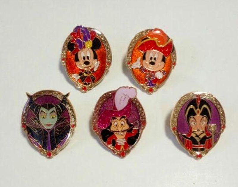 Tokyo DisneySea Game Pins 2016