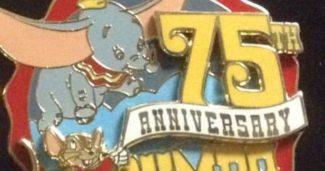 Cast Member 75th Anniversary Dumbo Pin